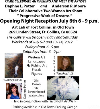 Information on Art Show Opening