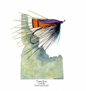Idaho Poppy Spey
